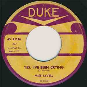 Miss LaVell - Yes, I've Been Crying / Stop These Teardrops download free